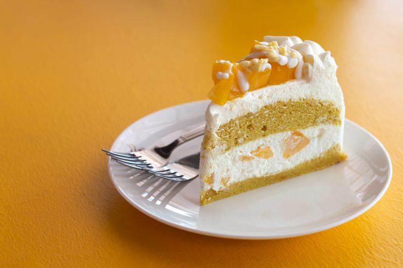 Mango Yoghurt Cheesecake