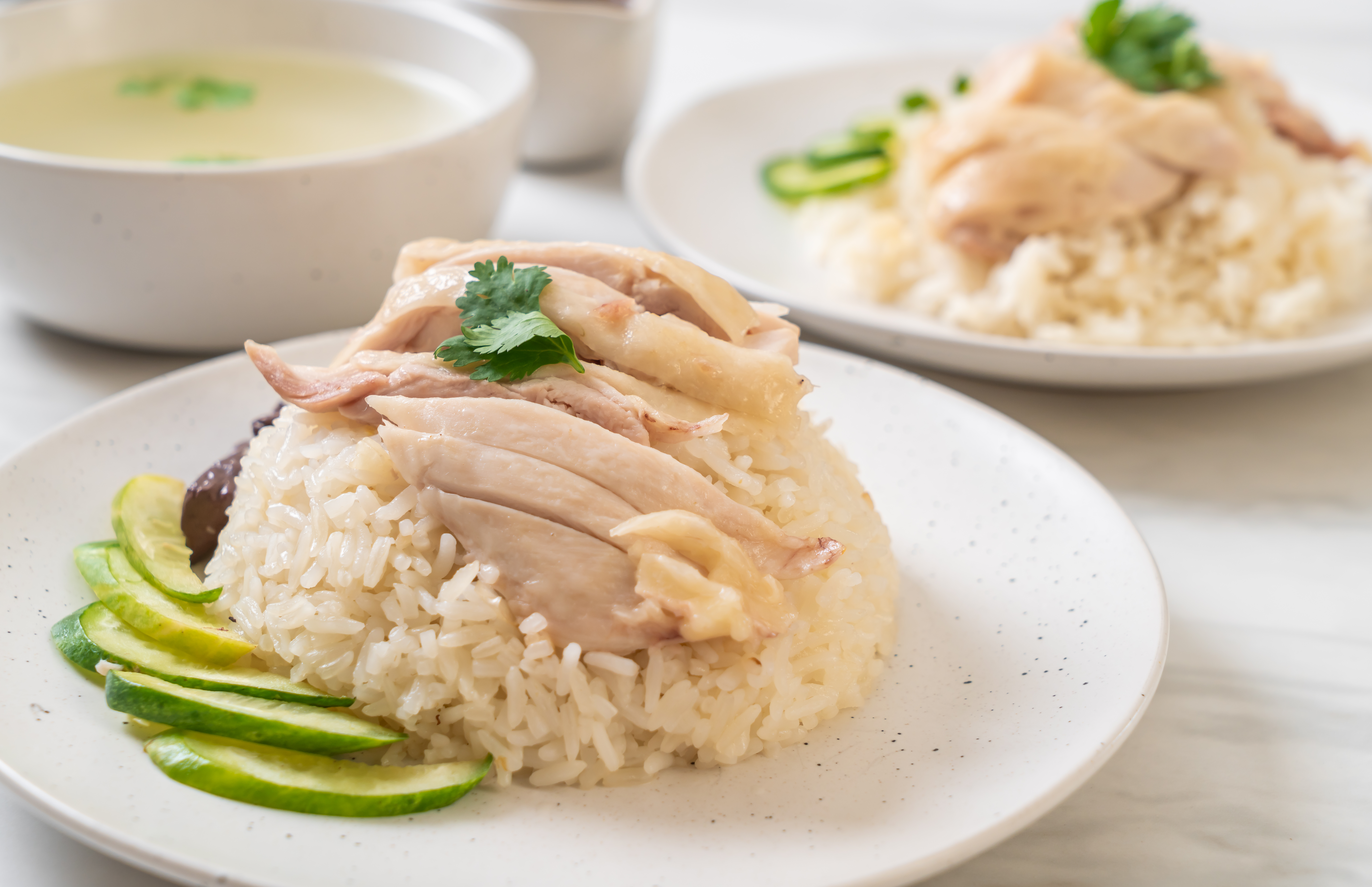Simple Fragrant Chicken Rice Kuali