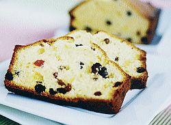 Orange Raisin Butter Cake