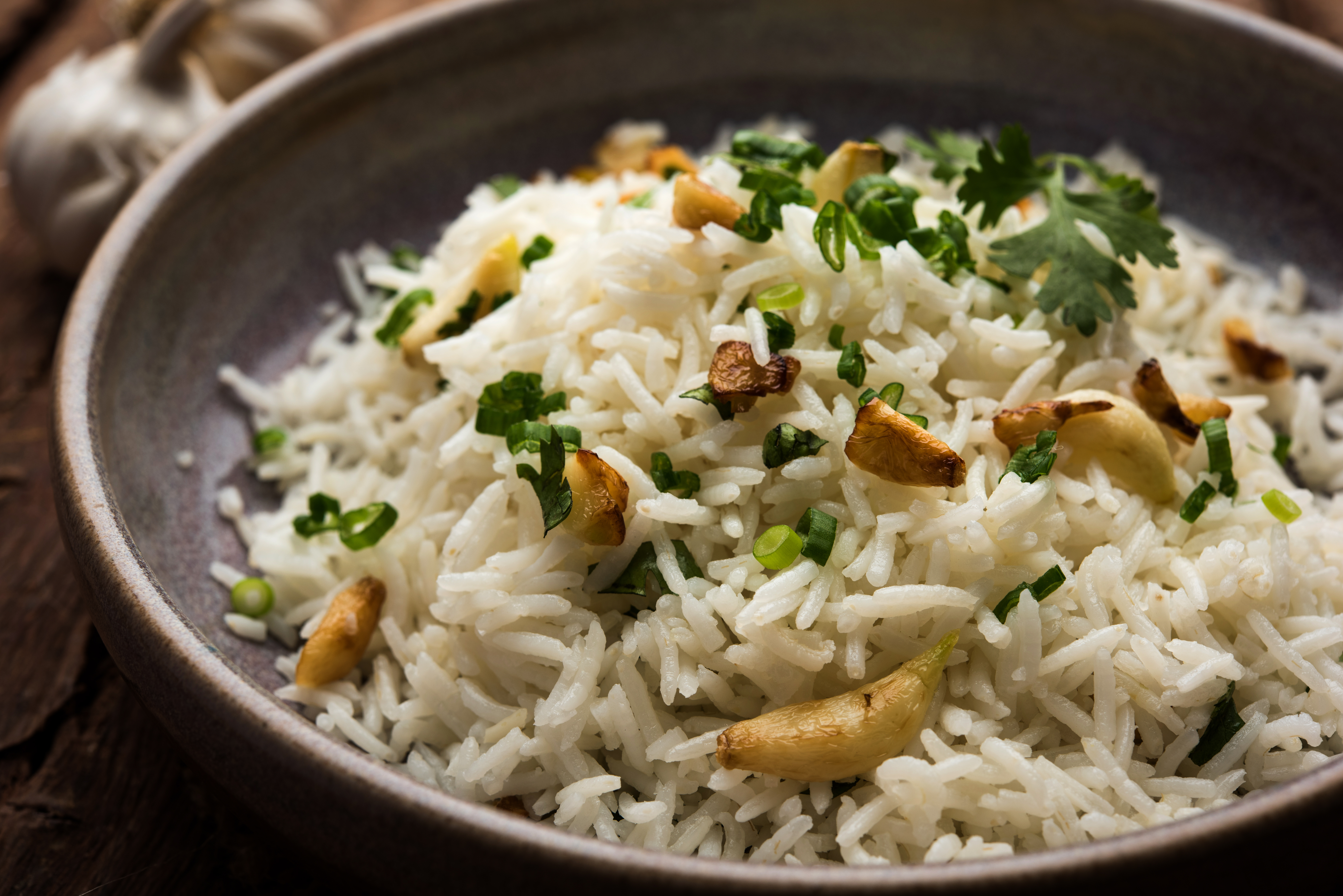 Buttered fragrant rice