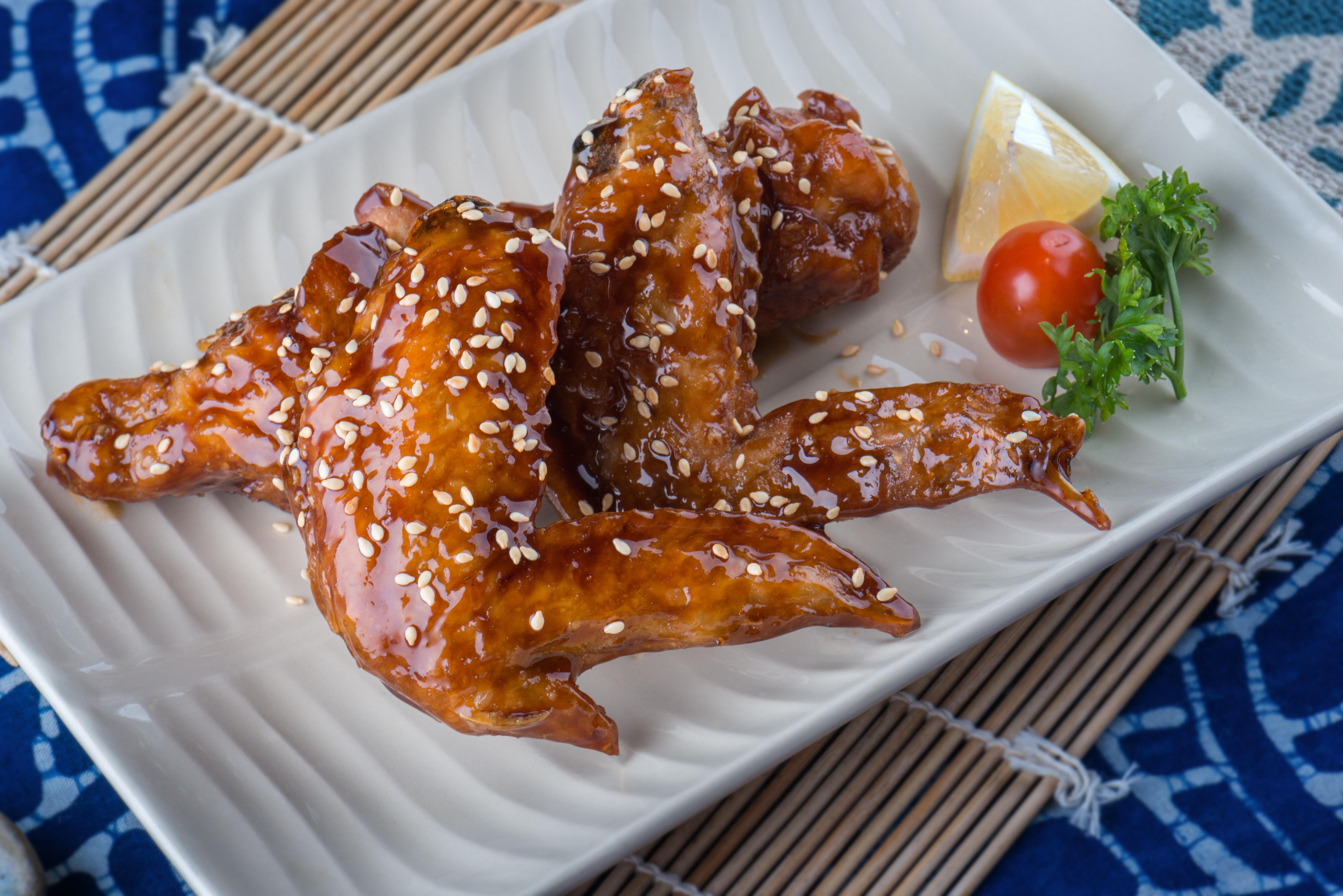 Honey Sauce Chicken Wing