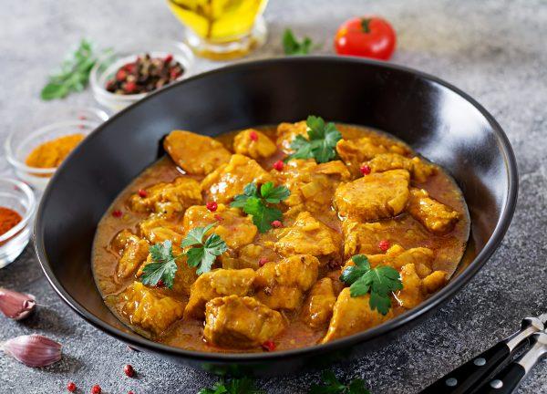 Spicy Curry Chicken