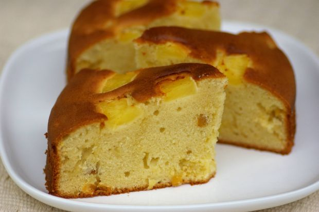 Pineapple Butter Cheese Cake