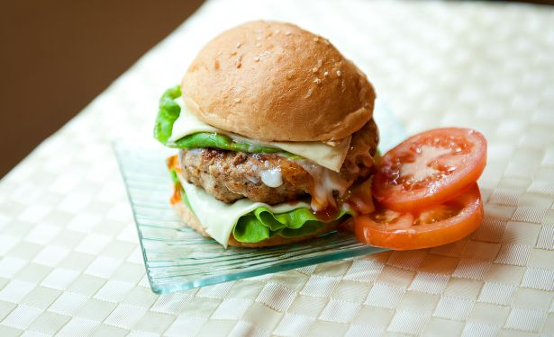 Nestum Chicken Burger