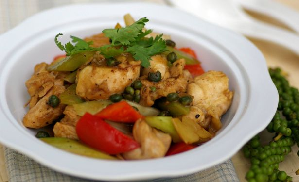 Stir-fried Pepper Chicken