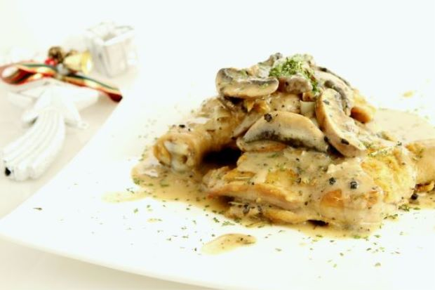Grilled Chicken with Portobello Mushroom Sauce - Kuali