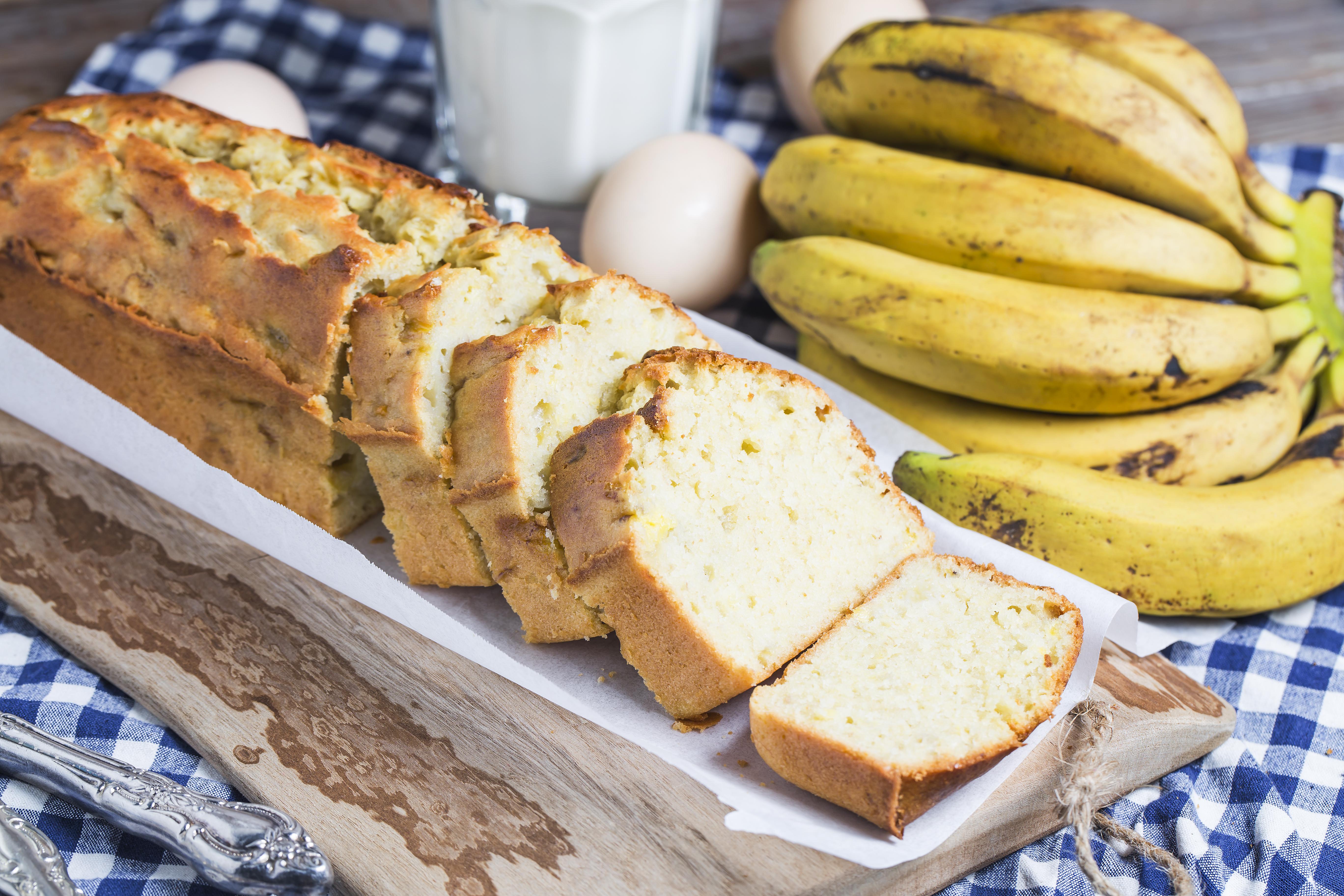 Rich Butter Banana Cake