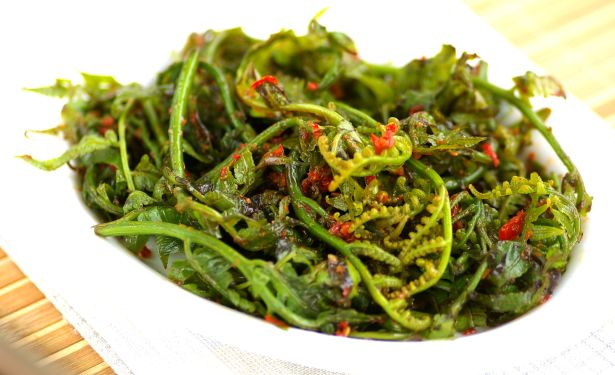 Stir-fried Jungle Fern