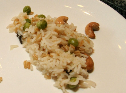Garlic Pilaf Rice