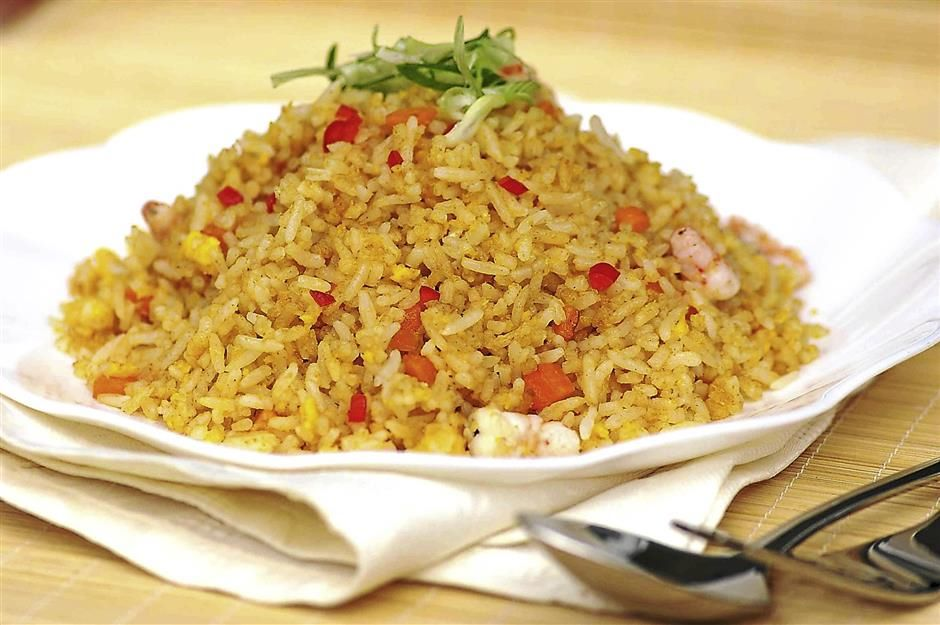 Salty Golden Fried Rice