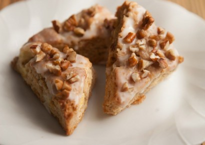 Tiny Buffalo´s Apple Pecan Cinnamon Scones