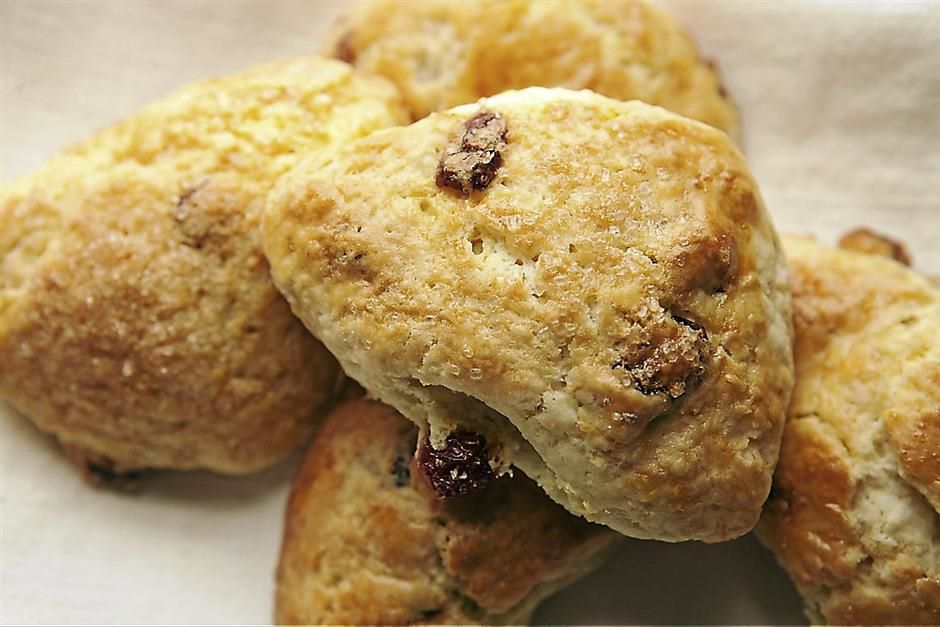 Jill Jane´s Lite Cranberry and orange Scones