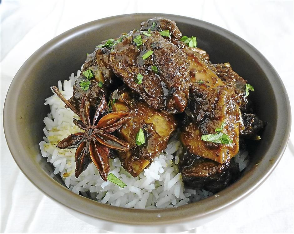 Asian-style Braised Beef With Orange
