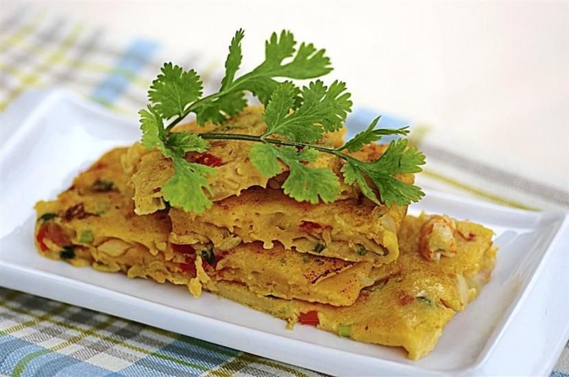 Pan-fried Kimchi Pancake