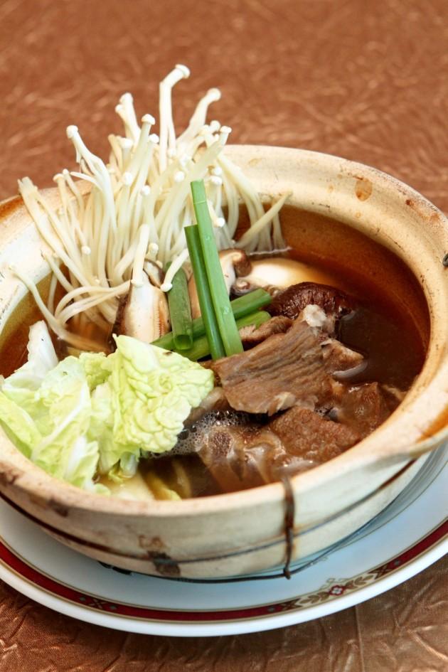 Must-try claypot dish: Lamb Kut Teh and Mui Choy.