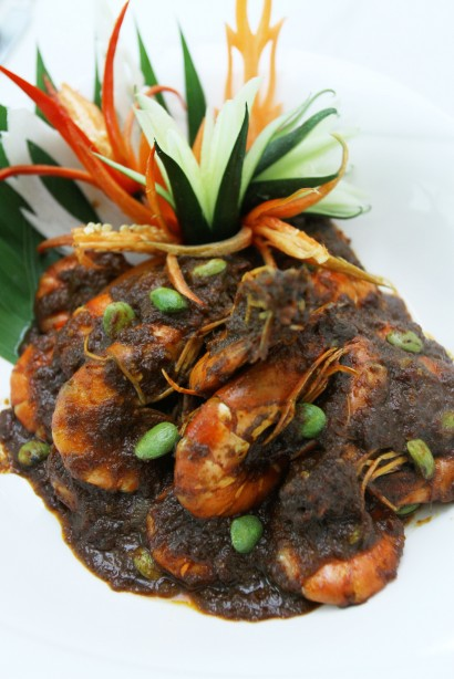 The Udang Sambal Petai is an all- time Malaysian favourite.