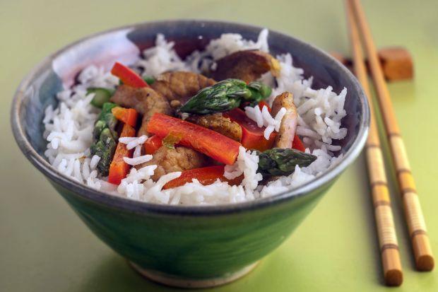 Asparagus and beef stir-fry recipe