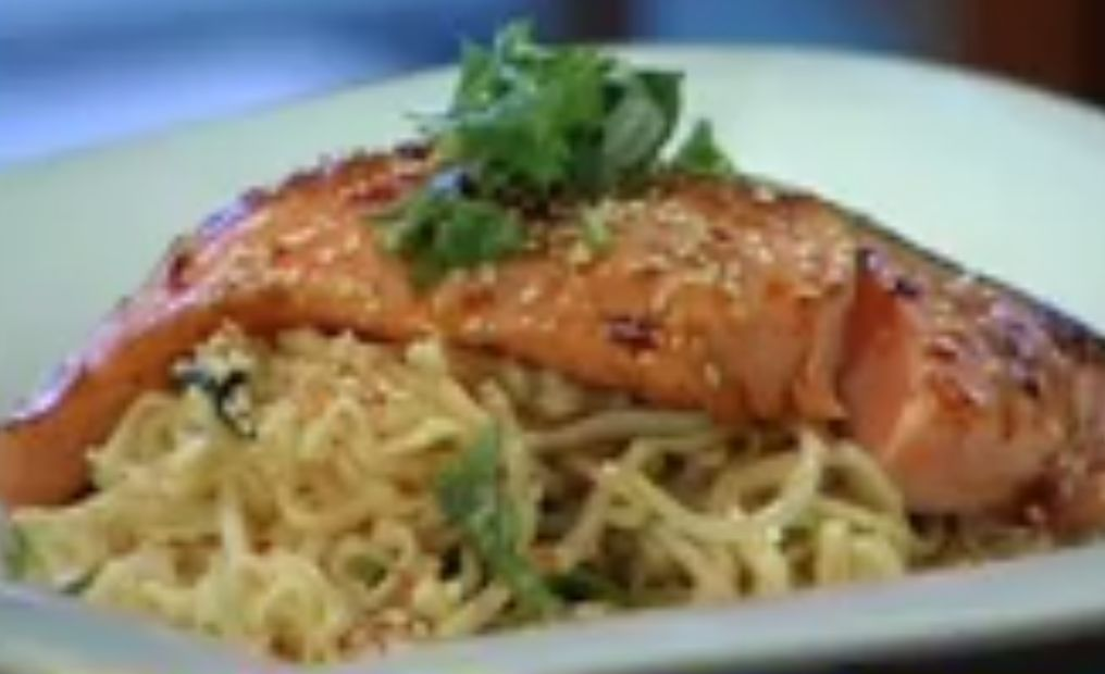 Gourmet on the Run: Honey-seared Salmon with Sesame ...