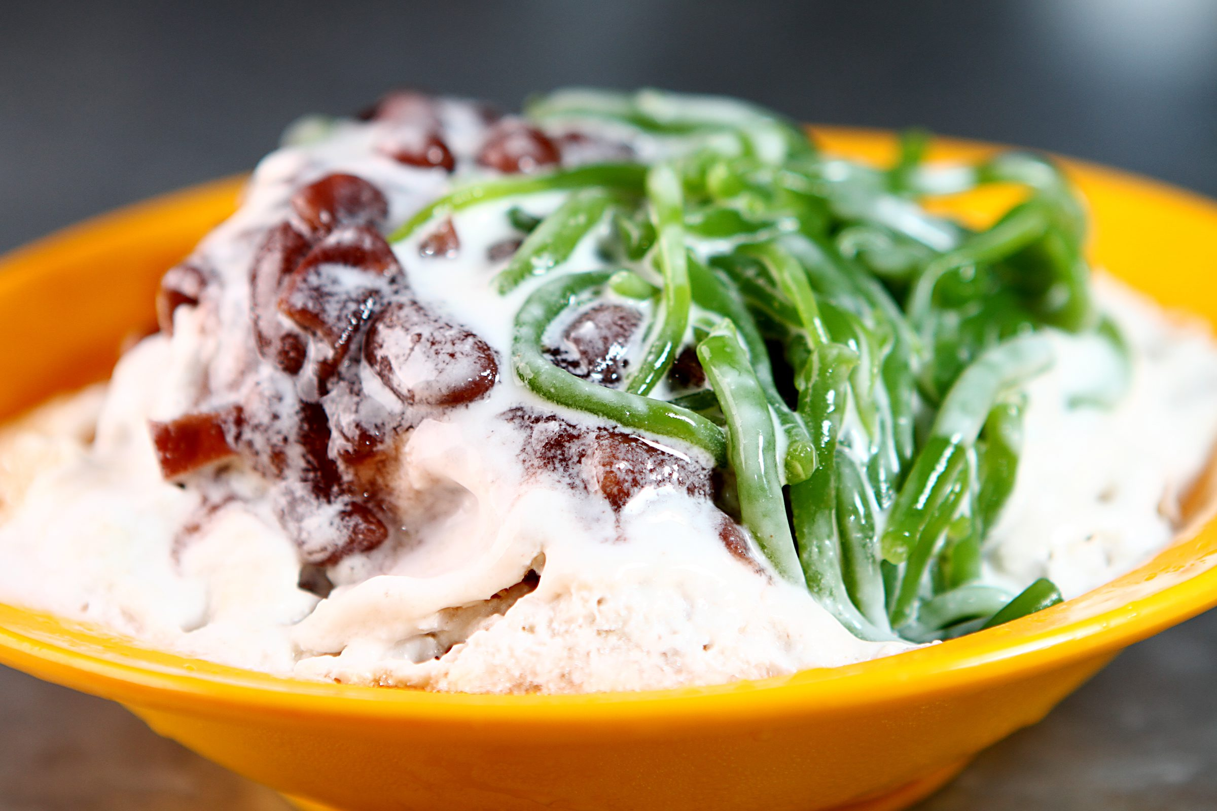 Cendol is one of the many authentic Penang favourites.