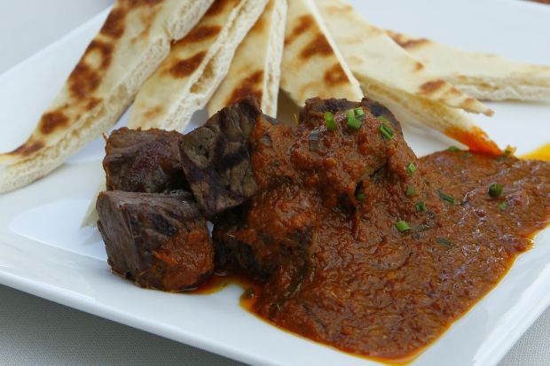Grilled Beef with Rendang Sauce