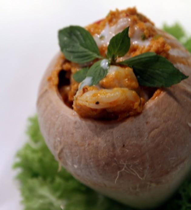 Thai Coconut Otak-Otak.