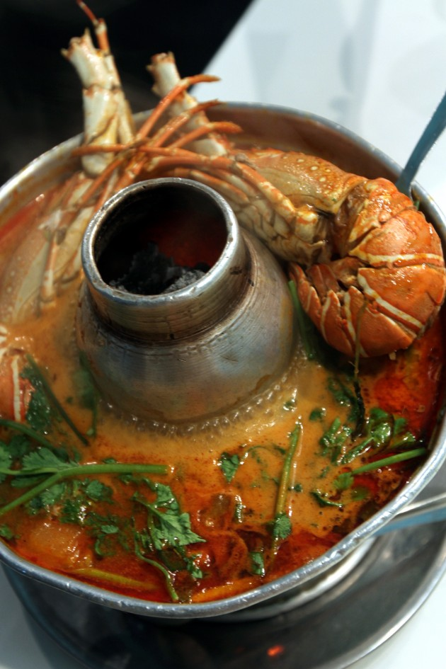 Tom Yam Lobster Soup is a must-try.