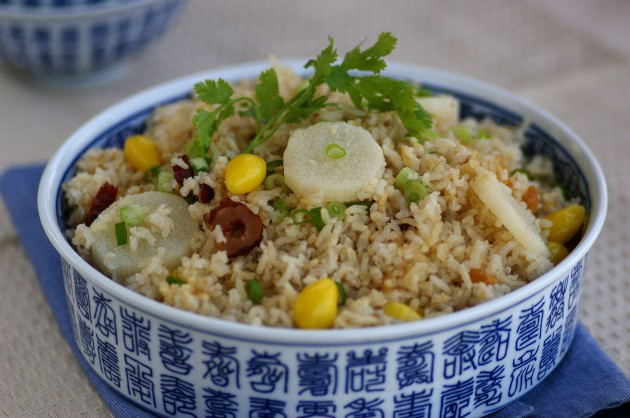 Brown Rice With Barley And Chinese Yam