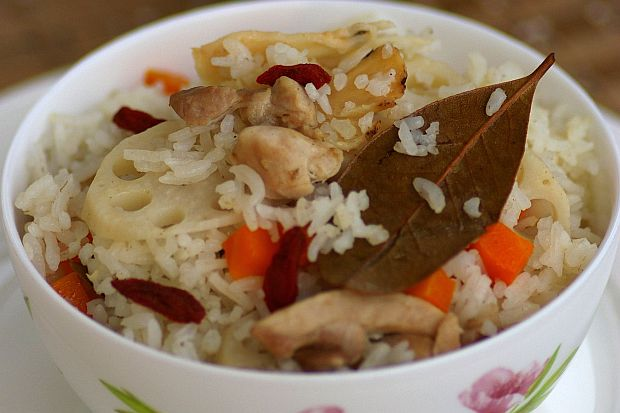 Herbal Lotus Root Rice