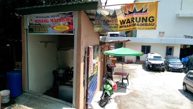 The Minang Maimbau  stall in Sungai Way.
