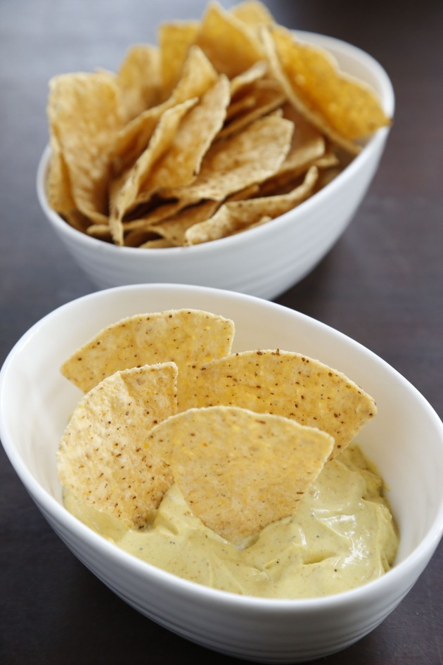 Mission Chips with Curried Cream Cheese dip 4_1