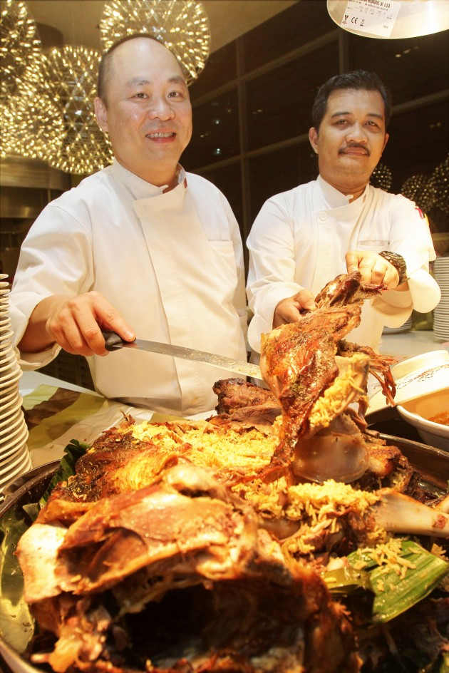 Seow (left) and Mohd Rozaiman have designed a menu featuring some of the top Malaysian favourites.