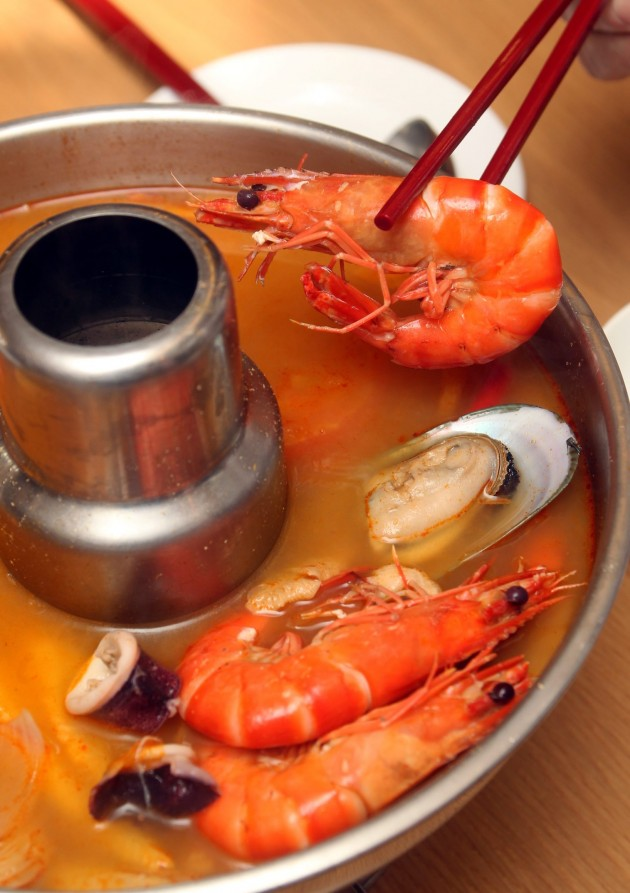 The signature Spicy Seafood Soup is another best seller at the Resorts World Genting's Resort Hotel Seafood restaurant.