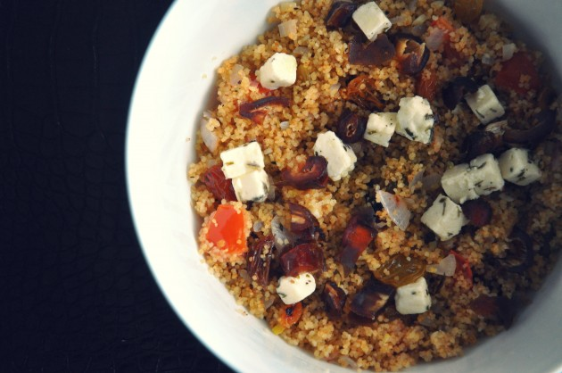 Vegetarian Cous Cous with Dates