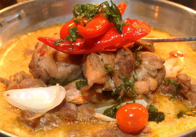 Ayam Kurma Seri Braised Chicken Lemongrass from Mosaic