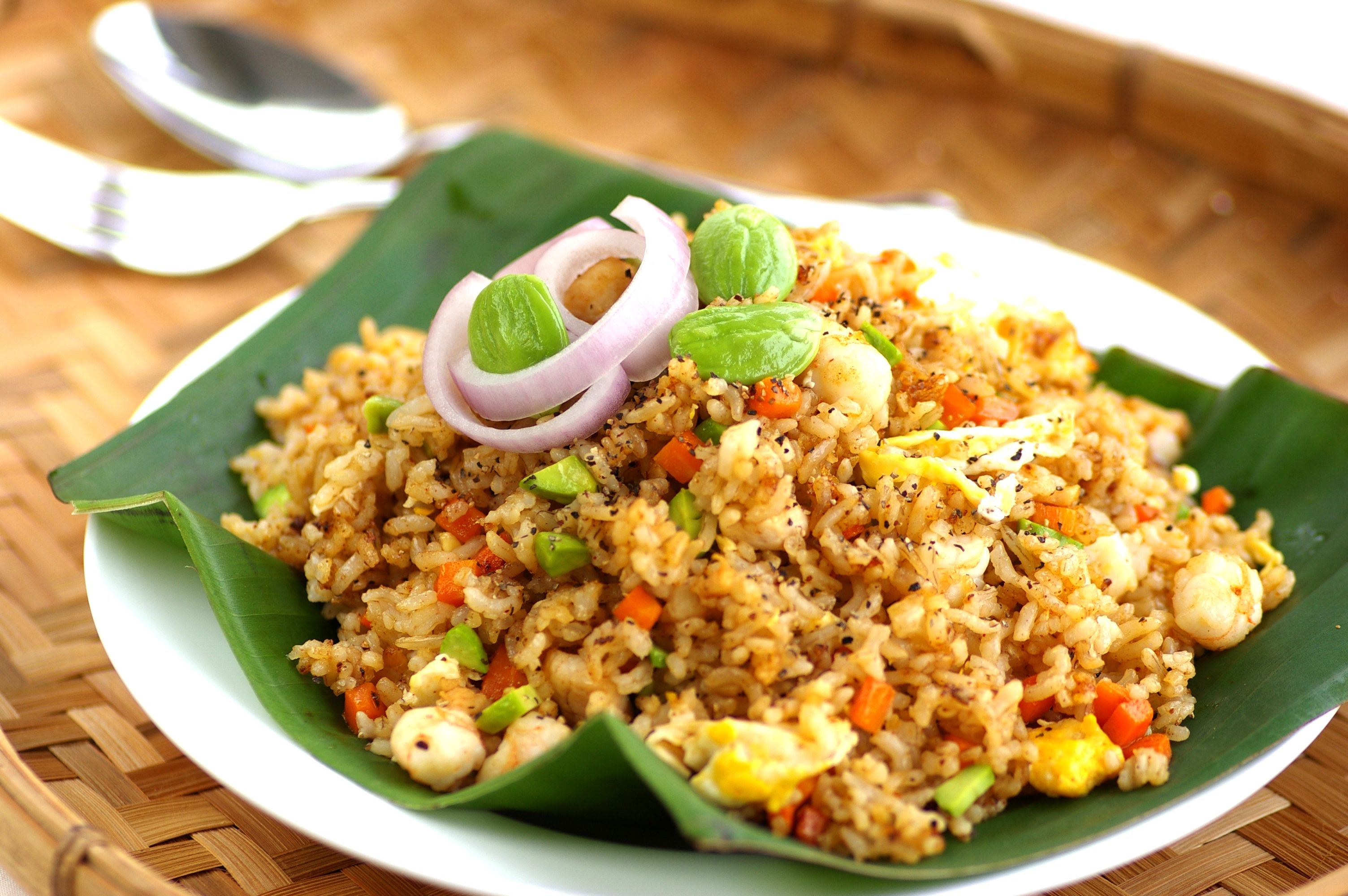 Black Pepper Petai Fried Rice