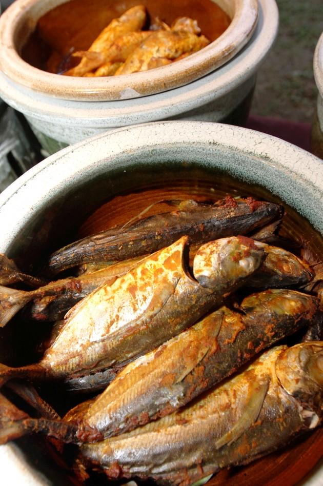 Grilled fish offered at the Ramadhan Buffet at Saujana Hotel Kuala Lumpur.
