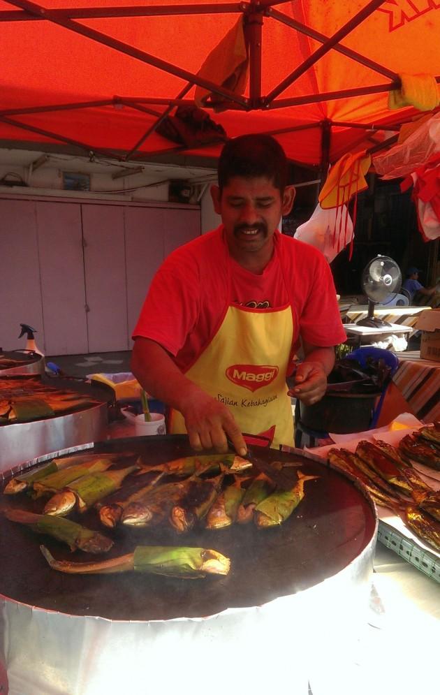 Ikan Bakar Abang Misai.