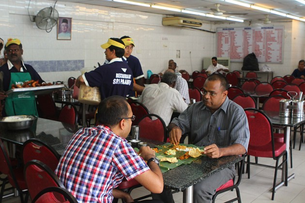 Sri Paandi is accustomed to dishing out good food to Petaling Jaya folk over the years.