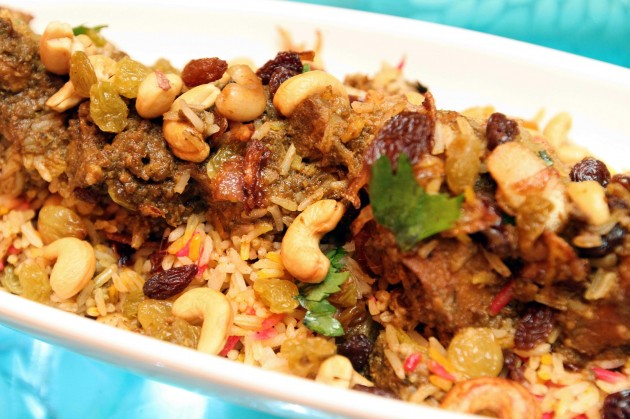 The nasi briayni gam which comes in beef, chicken and mutton is a must try.