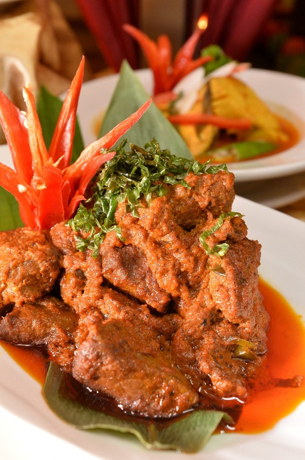 Venison rendang is one of the main course highlights in the Ramadan buffet.