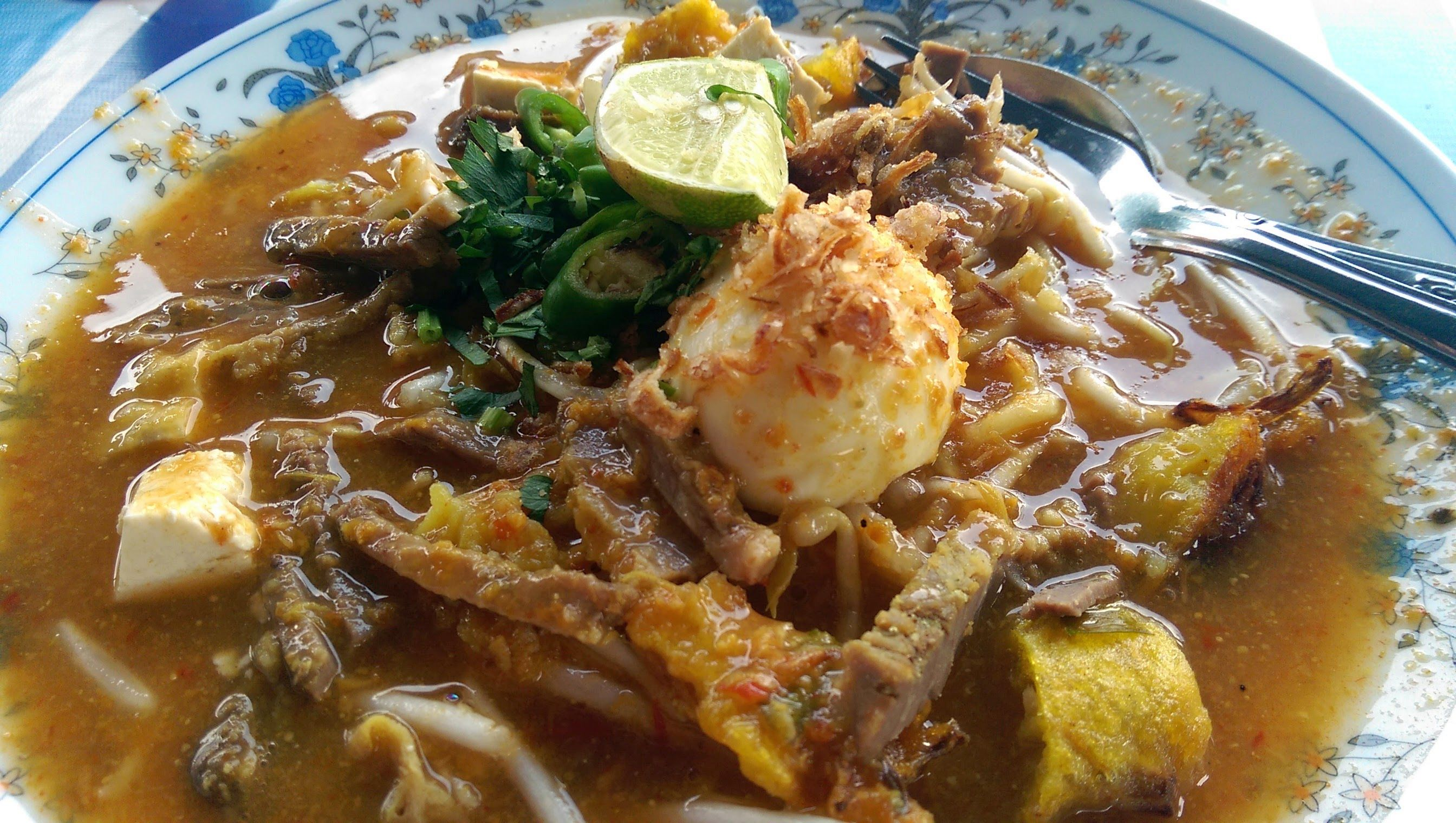 Mee rebus that packs a punch - Kuali