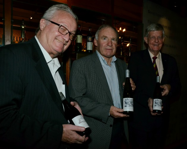 (From left) Best Western Premier Dua Sentral general manager Ian Hurst, Sherwood Wines representative Mark Jones and Malaysia New Zealand Chamber of Commerce chairman Richard Tanksersley holding a selection of Sherwood Wines.