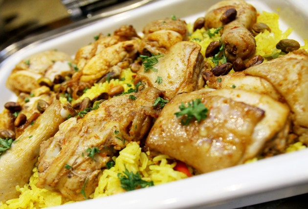 he Chicken Kebbsa is another favourite with aromatic rice and flavourful chicken.