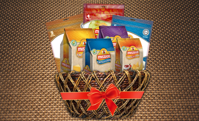 Win a Mission Foods hamper