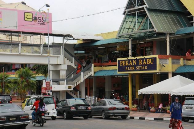 Pekan Rabu in Alor Setar,  Kedah.