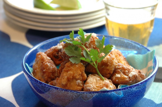 Spicy Tuna Karaage