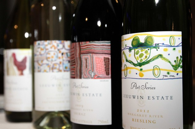 The range of wines from the cellars of Leeuwin Estate that were paired with sumptuous dishes.
