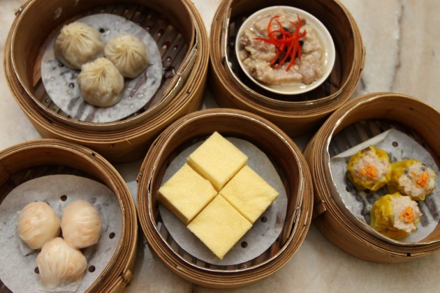 Individually hand rafted delicious dim sum.