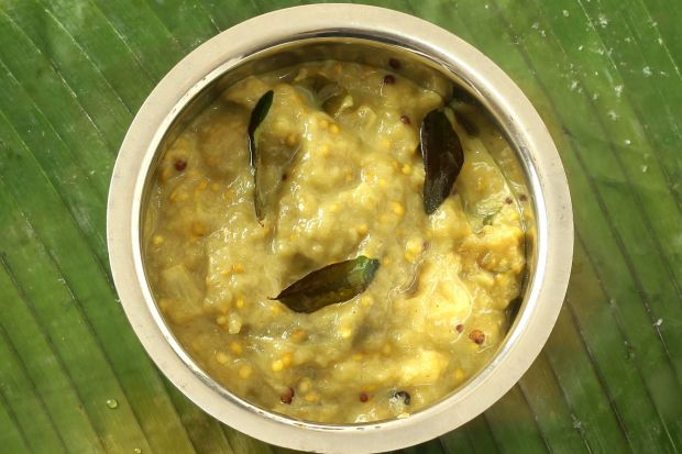 Kathrikkai Paal Curry (Eggplant Milk Curry)