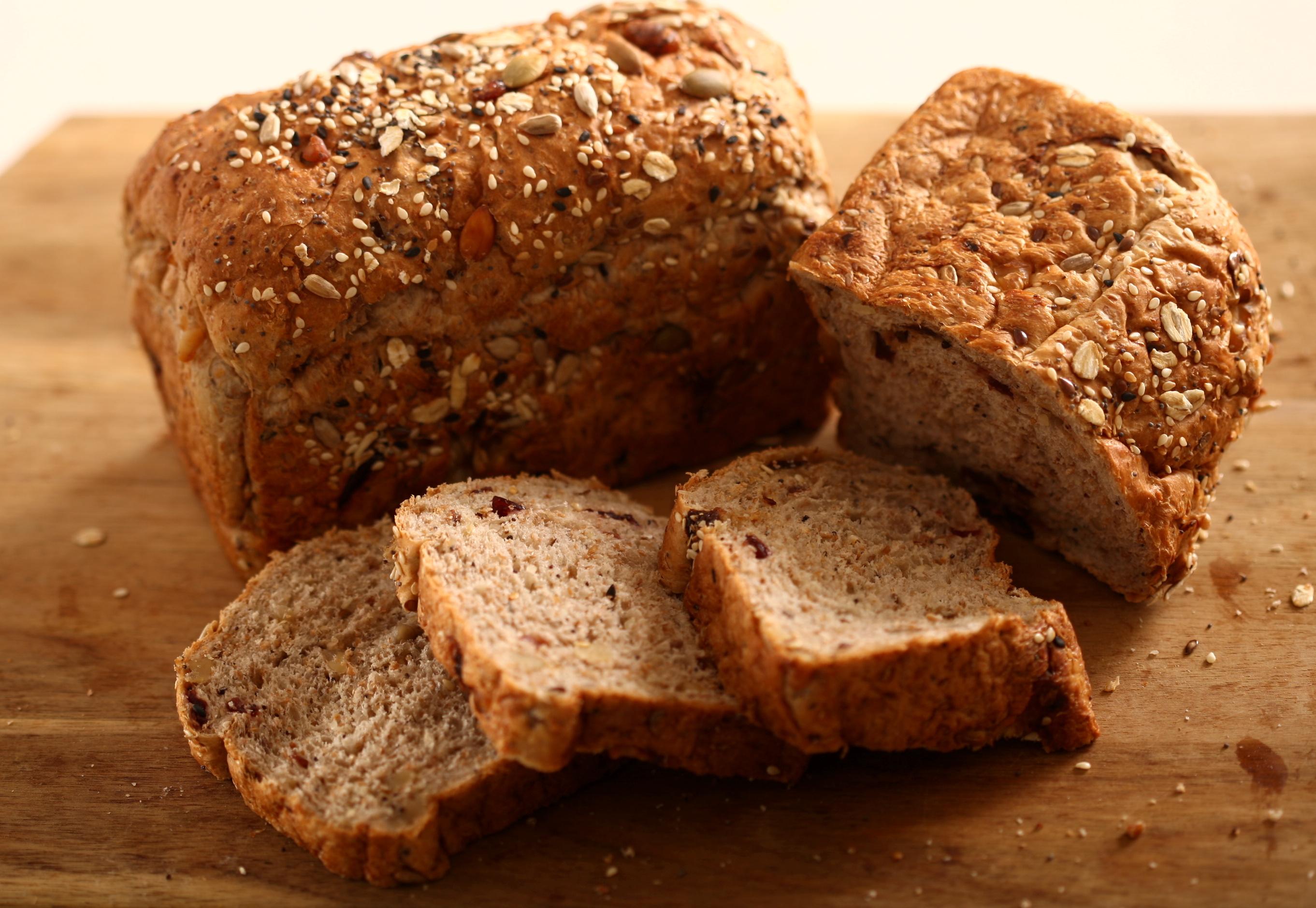 Swiss Muesli Bread.
